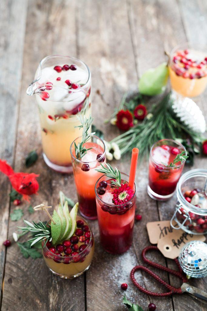 feestelijk kerstdessert
