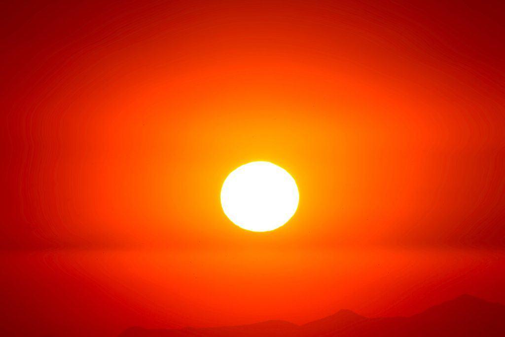 De zon voor de aanmaak van vitamine D